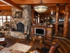 custom entertainment center - reclaimed wood