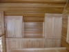 built in bedroom cabinetry - maple