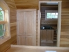 built in cabinetry and vanity - maple