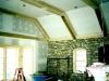 poplar beamed ceiling