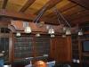 custom oak chandelier