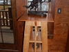 quarter sawn white oak arts and crafts stand