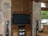 custom entertainment center install