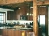 custom white oak kitchen install
