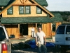jerry and bob working on craftsman cottage style hunting lodge