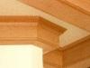cherry ceiling trim