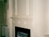 custom fireplace with fluted columns