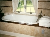 walnut bath trim